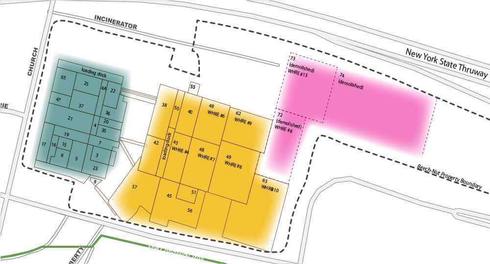 Exit 29 redevelopment site zones