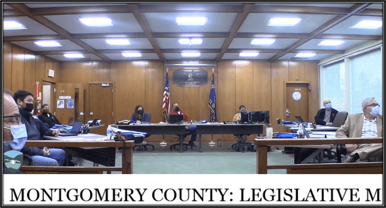 4.20.21 Montgomery County Legislature Meeting
